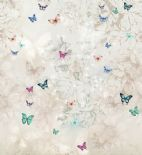 Blumarine Home Collection No. 2 Wallpaper Panel Sofio Crystal BM25215 or 25215 By Emiliana For Colemans